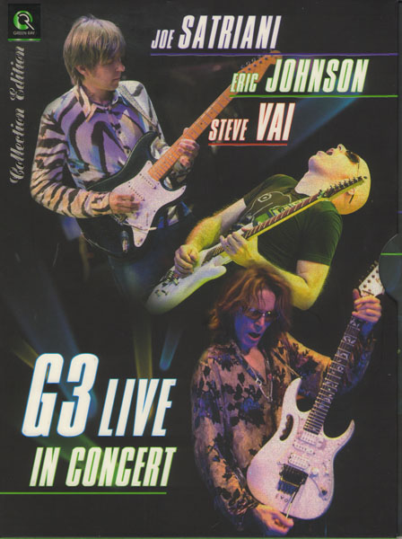Скачать сборник нот G3 - Joe Satriani, Eric Johnson, Steve Vai