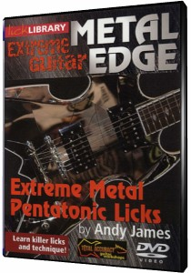 скачать видеошколу Lick Library - Metal Edge - Extreme Metal Pentatonic Licks